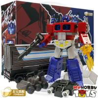 JinBao Transformers - DF04 Optimus Prime with Trailer ( KO OVERSIZED DX9 Dutch )